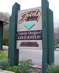 Facets of Foscoe Sign